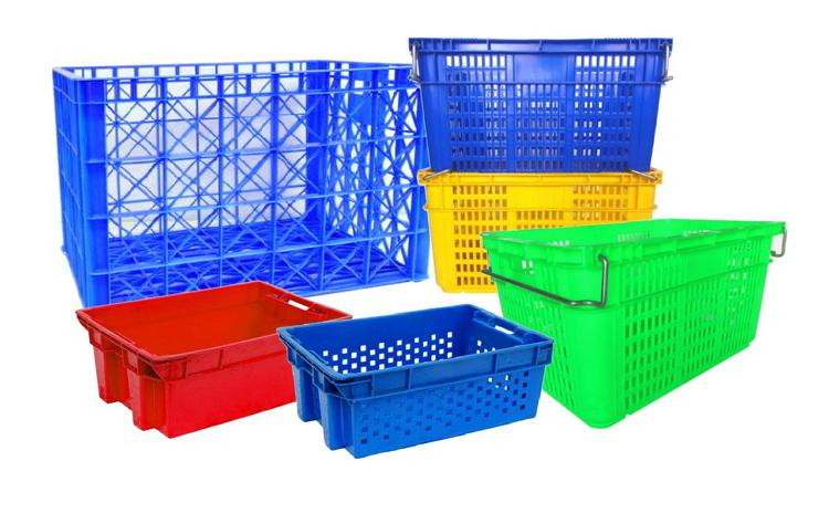沛澄塑膠箱籃物流台車塑膠棧板